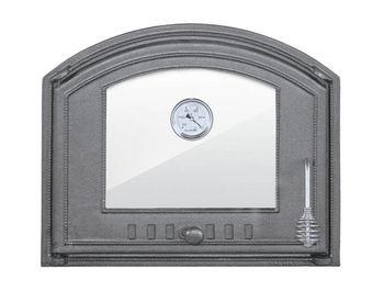 купить Дверца чугунная со стеклом левая с термометром DCHS3T в Кишинёве