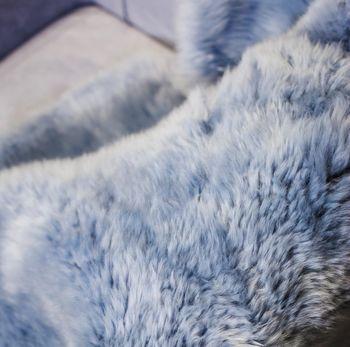 """купить Шкура из молодой австралийской овечки 1,10 X0,65-0,70 м """"BLAUGRAU"""" single в Кишинёве"""