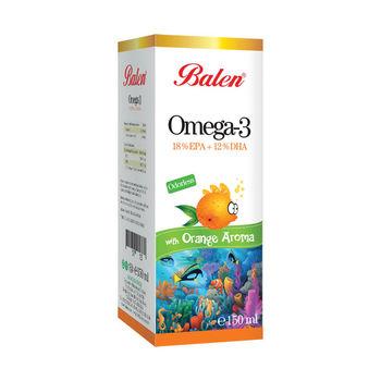 cumpără Balen Omega 3 cu aromă de portocale 150 ml în Chișinău