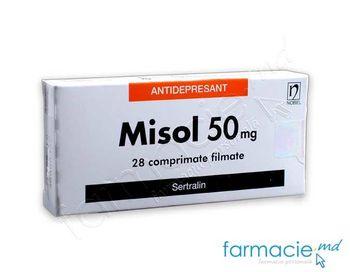 купить Misol comp. film.50 mg N14x2 в Кишинёве