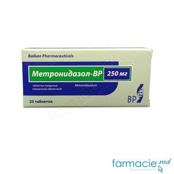 купить Metronidazol-BP comp.filmate 250 mg  N10x2 (Balkan) в Кишинёве
