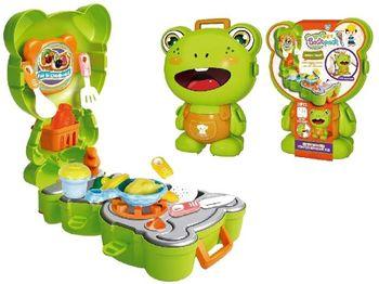 Набор игровой рюкзак-лягушка Повар 19X9X25cm