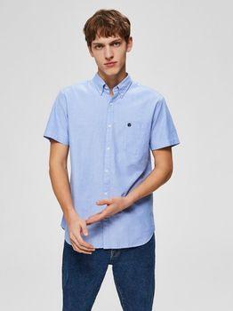Рубашка SELECTED Голубой 16065885