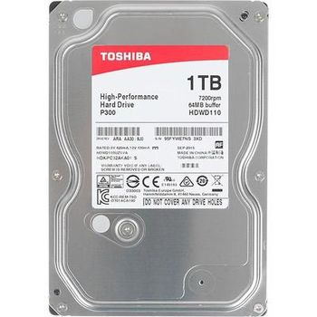 "3.5"" HDD 1.0TB  Toshiba HDWD110UZSVA  P300, for Desktop, 7200rpm, 64MB, SATAIII"