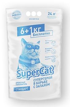 cumpără Наполнитель SUPER CAT стандарт, 6+1к în Chișinău