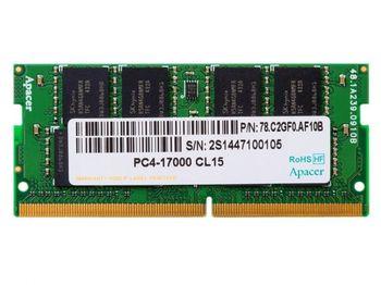 4GB DDR4 - 2400MHz  SODIMM  Apacer