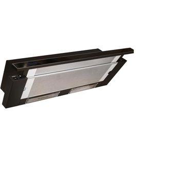 Bстраиваемые вытяжки  ZANETTI  SLIDER 620 BLACK GLASS