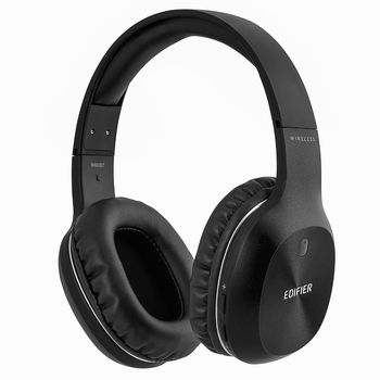 Edifier W800BT Black / Bluetooth and Wired On-ear headphones with microphone, BT Type 4.0, 3.5 mm jack, Dynamic driver 40 mm, Frequency response 20 Hz-20 kHz, On-ear controls, Ergonomic Fit, Battery Lifetime (up to) 35 hr, charging time 3 hr