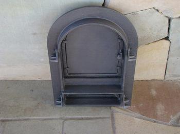 Дверца чугунная глухая правая DW10R
