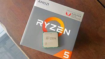 cumpără Procesor AMD RYZEN 5 2400G, SOCKET AM4, 3.6-3.9GHZ în Chișinău