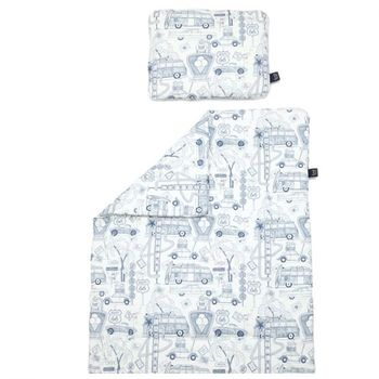 купить Комплект подушка+одеяло LaMillou Organic Jersey Route 66 в Кишинёве