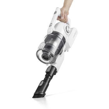 купить Ручной вертикальный пылесос (белый) TROTEC VC150E в Кишинёве