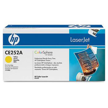 HP Color LaserJet CM3530/CP3525 Print Cartridge, with ColorSphere Yellow Toner (7000pages)
