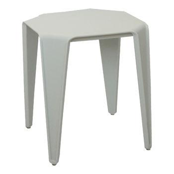 купить Журнальный столик из пластика 415x415x450 мм, белый в Кишинёве