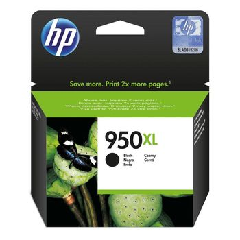 HP #950XL Black Officejet Ink Cartridge (2300 pag)