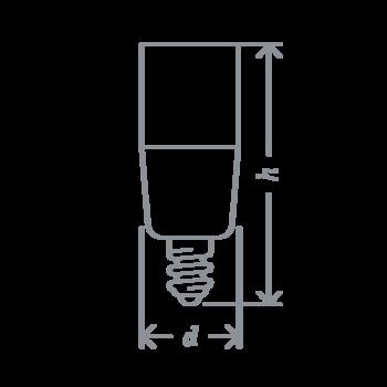 купить LED (10W) E14 NLL-T39-10-230-6.5K-E14 в Кишинёве