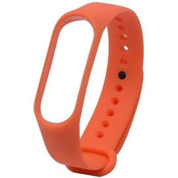 Ремешок для фитнес-браслета Xiaomi Mi Band 3/4, Orange