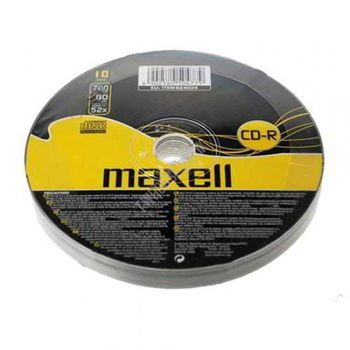 CD-R MAXELL 80 52x- Shrink Pack 10 pcs