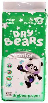 купить Dry Bears Slim&Cool 5 Junior (15-25 кг) 38 шт. в Кишинёве