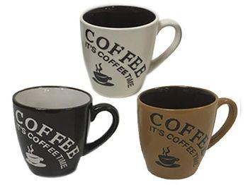 "Чашка 200ml ""Coffe time"", керамика"