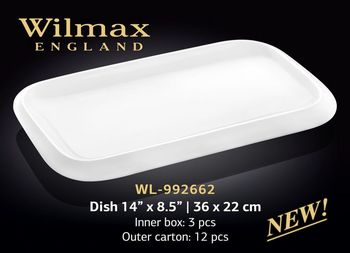 Platou WILMAX WL-992662 (36 x 22 cm)