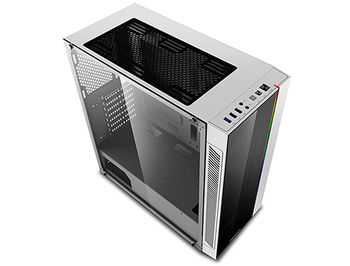 Case Middletower Deepcool MATREXX 55 V3 ADD-RGB WH ATX White no PSU, Side & Front panel Tempered glass, 1xUSB3.0/2xUSB2.0/AudioHD x 1/Mic x 1 (carcasa/корпус)