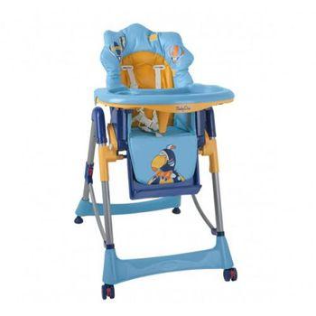 """Babyono Кресло для кормления синее """"Попугай"""""""