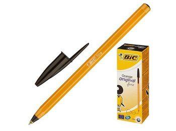 Ручка шариковая BIC Orange Fine, черная