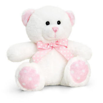 Baby Spotty Bear Мишка с розовым 15 см, код 42932