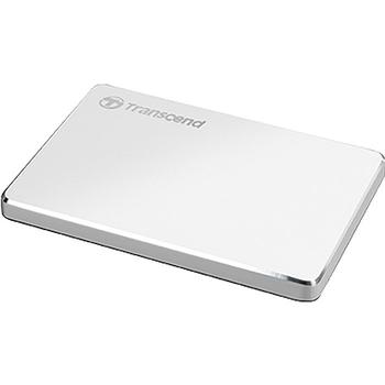 """купить 1.0TB (USB3.1/Type-C) 2.5"""" Transcend """"StoreJet 25C3S"""", Silver, Aluminum Casing, Ultra-Slim&Light в Кишинёве"""