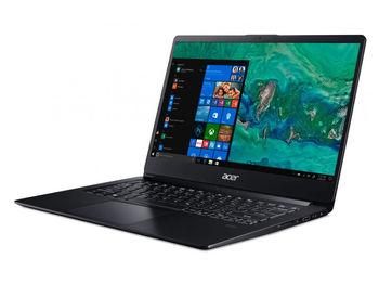 "купить ACER Swift 1 Obsidian Black (NX.H1YEU.011), 14.0"" IPS FHD (Intel® Pentium® Silver N5000 4xCore up to 2.70 GHz, 4GB (1x4) DDR4 RAM, 128GB PCIe SSD, Intel® UHD Graphics 605, CR, WiFi-AC/BT, FPR, Backlit KB, 3cell, HD Webcam, RUS, Linux, 1.3kg, 15mm) в Кишинёве"