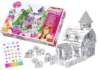 "20083 Trefl ""A&C - Craft House - Farma Applejack"" / Hasbro, My Little Pony"