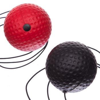 Пневмотренажер с 2 мячами Fight Ball BO-1660 (4631)