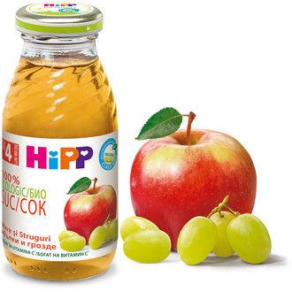 купить Hipp сок яблоко-виноград с 4 мес. 200мл в Кишинёве