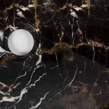 cumpără Chiuveta baie marmura Portoro Gold, 42 x 14 cm în Chișinău