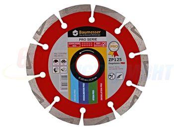 купить Алмазный диск 1A1RSS/C3-H 125x2,2/1,4x8x22,23-10 Baumesser Ziegelstein PRO в Кишинёве