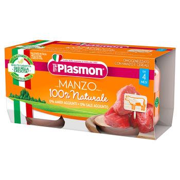 cumpără Plasmon Piure omogenizat din carne de vita, +4 luni, 2x80 g în Chișinău