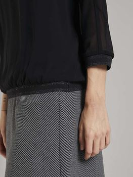 Блуза TOM TAILOR Чёрный 1023401 tom tailor