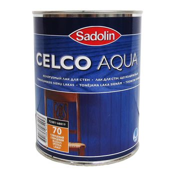 Sadolin Лак Celco Aqua 70 Глянцевый 1л