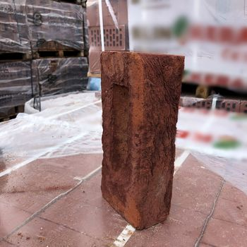 25x12x6,5 см Кирпич Вишнёвый