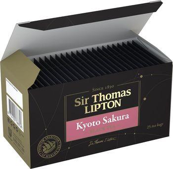 купить Чай в пакетиках Sir Thomas Lipton Kyoto Sakura черный с ароматом вишни, 25 шт. в Кишинёве