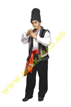 Молдавский мужской национальный костюм