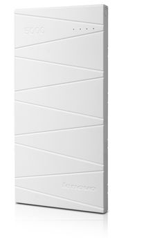 Lenovo Power bank PB300 White, 5000mAh, White, Power Capacity: 5000 mAh, Portable design and light weight 5 V 2 A charge input 5 V 2.1 A output;. Slim design 9 mm; Large capacity, polymer core; Multiple security design; Four