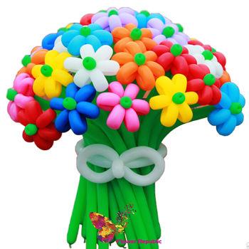 купить Букет цветных ромашек из шаров в Кишинёве