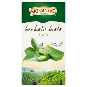 купить Чай белый Big Active with Aloe Vera, 20 шт в Кишинёве