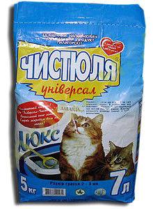 купить Наполнитель для кошачьего туалета ЧИСТЮЛЯ Универсал в Кишинёве