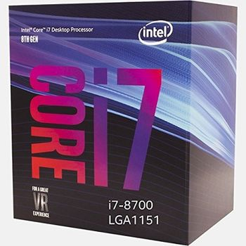 Intel® Core™ i7 8700, S1151, 3.2-4.6GHz (6C/12T), 12MB Cache, Intel® UHD Graphics 630, 14nm 65W, Box