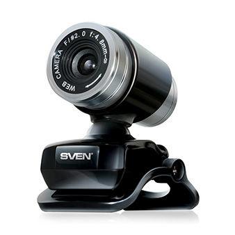 Camera SVEN IC-720, Microphone, 0.3Mpixel - 8Mpixel, 5G glass lens, UVC, USB2.0, Black
