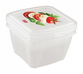 Container BYTPLAST 4311134 Fresco (set 2buc/0.5 L+1L)