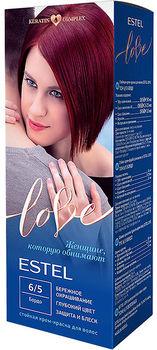 Краска для волос, ESTEL Love, 100 мл., 6/5 - Бордо